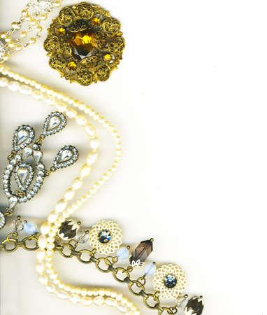 jewellery border photo