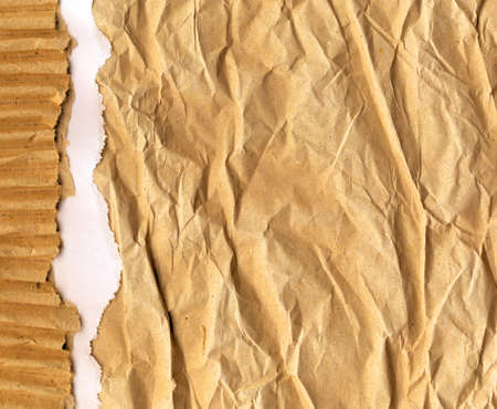 ripped recycled cardboard background texture photo