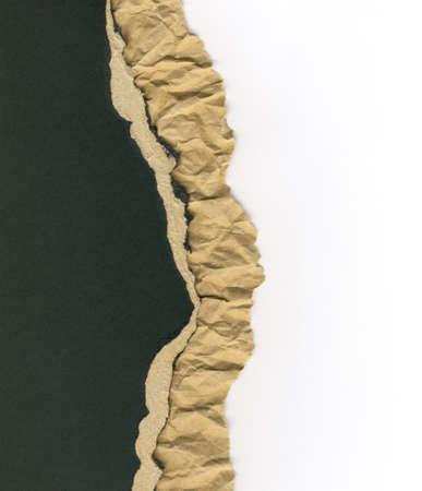 geripte gerecycleerd karton achtergrond textuur Stockfoto