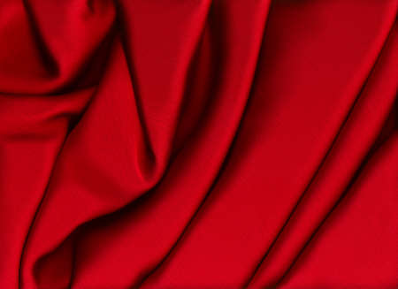 smooth:  Smooth Red Satin Stock Photo
