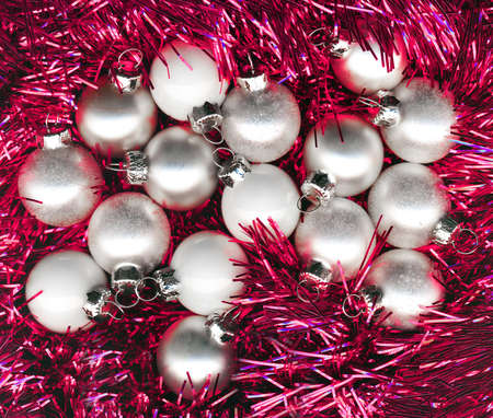 solemnity: Pink Christmas background