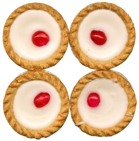 4 Bakewell Tarts Stock Photo - 11586173