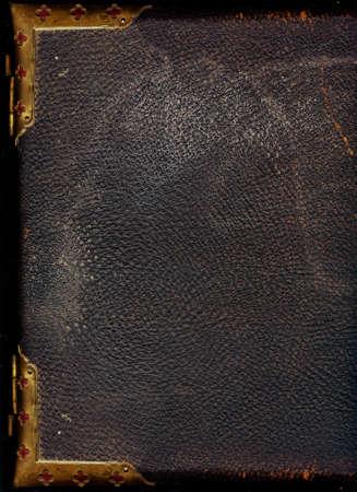 古い革製本