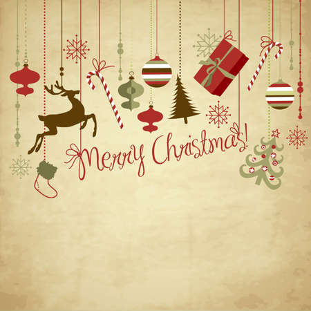 christmas template: Natale sfondo