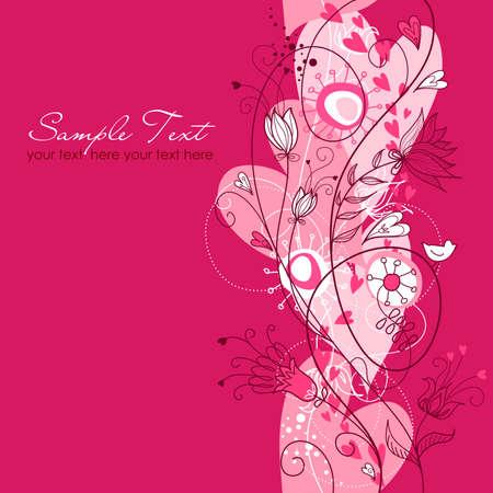 Retro Floral nahtlose Hintergrund Standard-Bild - 12494120
