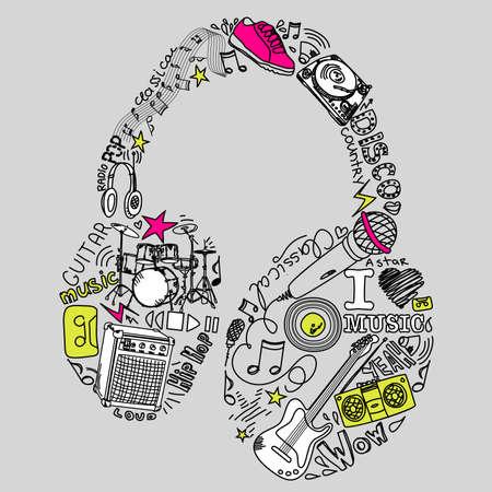 microfono radio: Garabatos M�sica