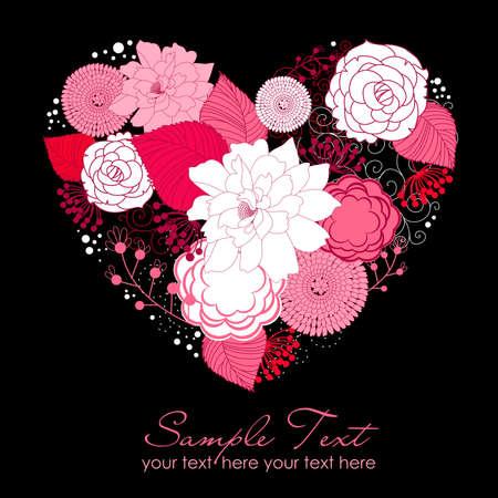 romance: Floral Heart