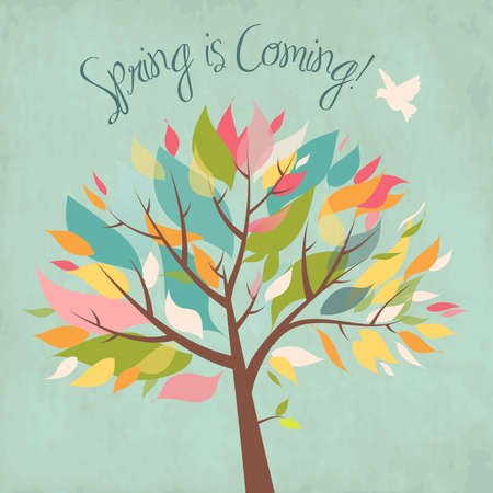 Spring is coming! Stock Vector - 12494238