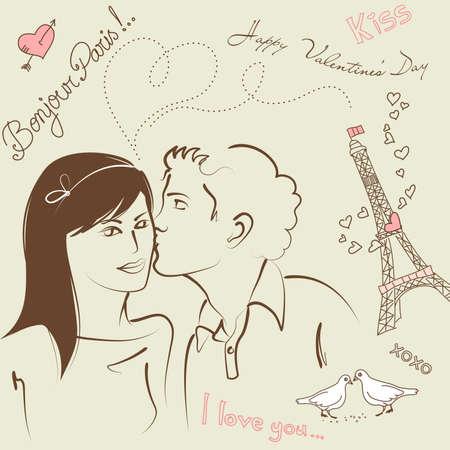 LOVE doodles  Çizim