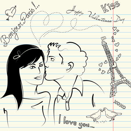LOVE doodles  Illustration