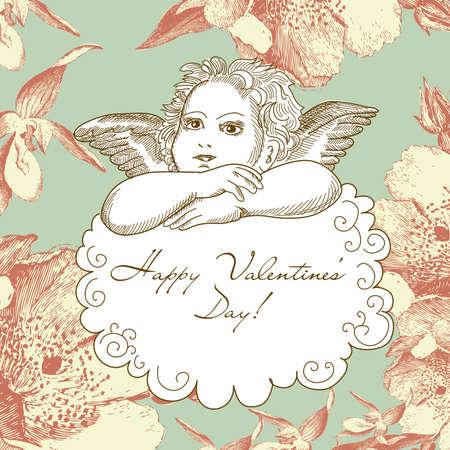 romantic: Vintage Angel