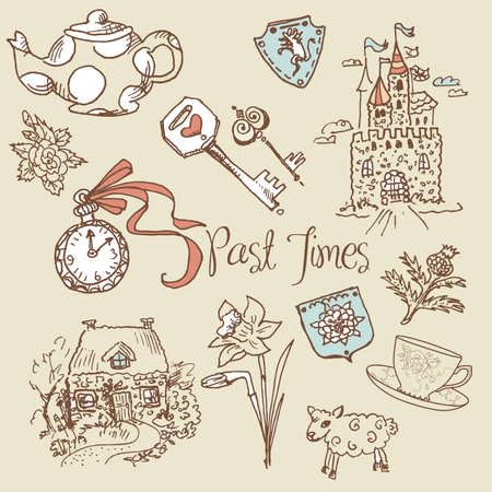 Past times Vector