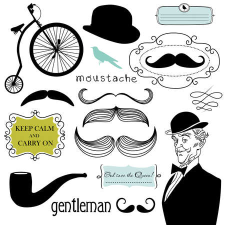 A Gentlemen's Club Stock Vector - 12851183