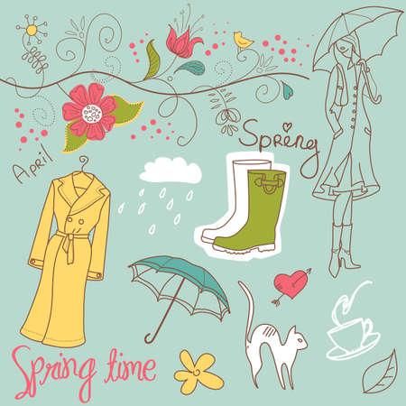 4월: 봄 낙서