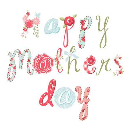 Hand Drawn Mother's Day card, lovely script