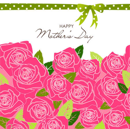 Mother's Day card Vettoriali