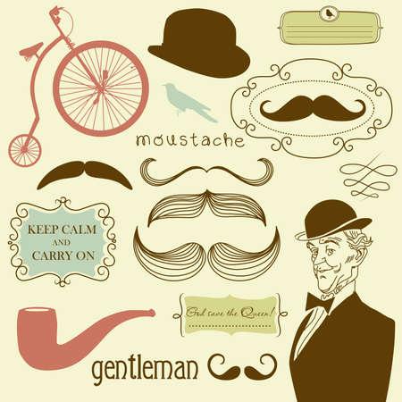 A Gentlemen's Club Stock Vector - 13339737