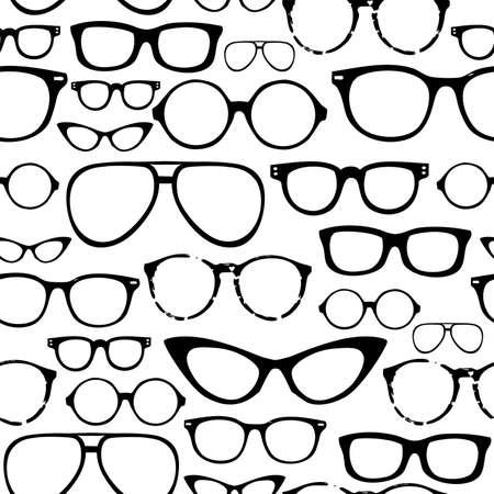 fashion bril: Retro Naadloze bril
