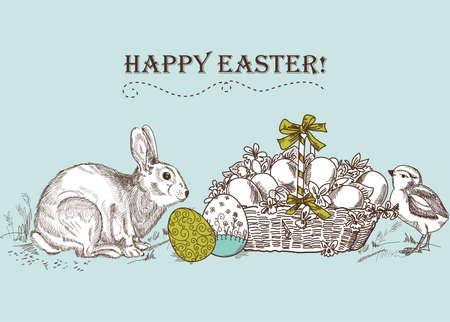 antique: Vintage Easter Card