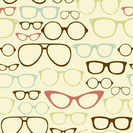 sehkraft: Retro Seamless Brillen