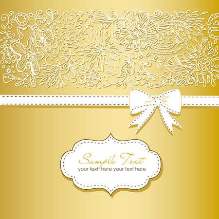 아름 다운 꽃 배경과 나비 스톡 콘텐츠 - 15158825