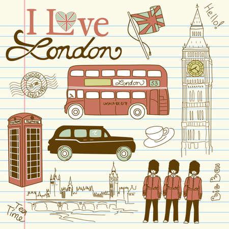 guard box: London doodles