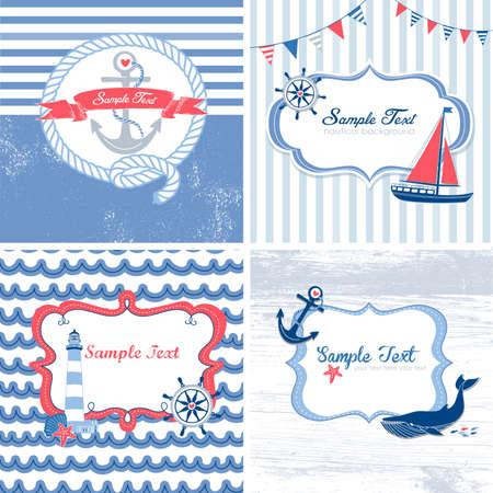 4 航海カードのセット