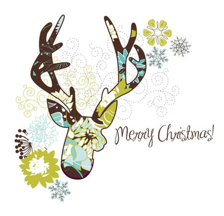 Christmas deer Stock Vector - 16681086