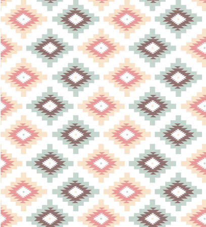 Seamless geometric pattern in aztec style Stock Vector - 20468353