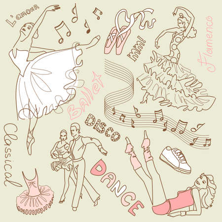 ballet shoes: Dance doodles