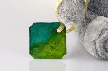 Bear and post card