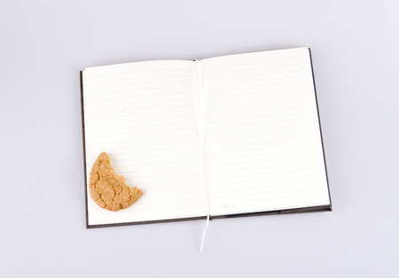 Notebook of student Stock Photo