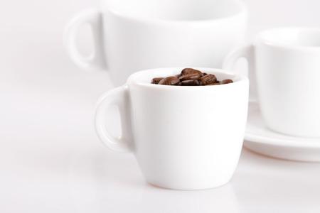 Espresso coffee cup Stock Photo
