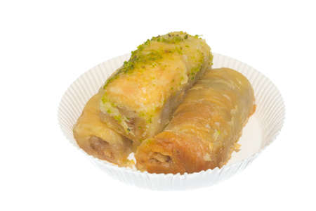 sweet dessert Baklava, Eastern Culture photo