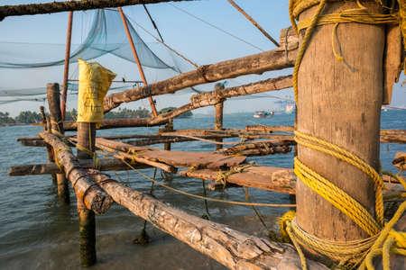 fishnets: Kochi chinese fishnets