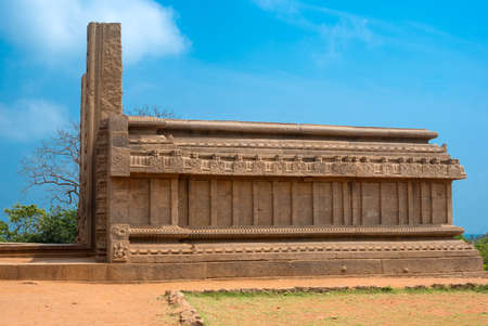 mamallapuram: ancient the building in India