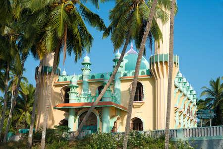 varkala: mosque ashore Varkala, Kerala, India