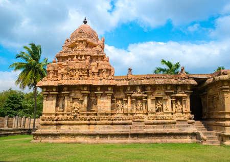 ancient Gangaikonda Cholapuram Temple in India Stock Photo