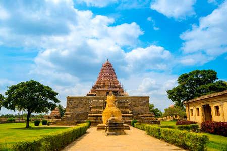 shiva: entrance in Hindu Temple dedicated to Shiva, ancient Gangaikonda Cholapuram Temple,  India, Tamil Nadu, Thanjavur (Trichy)