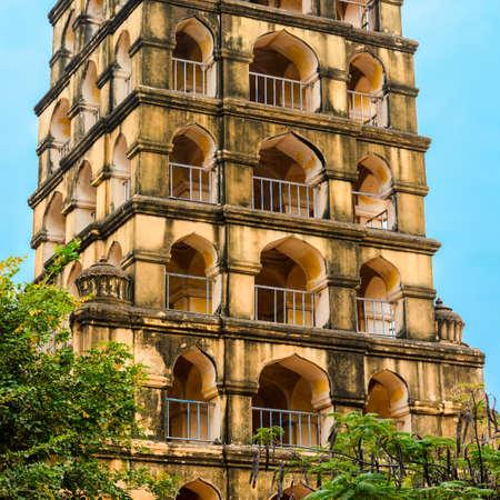 prominent: Vijaynagara Fort of Tanjore prominent historical monument Nayak King 'Vijay Raghav'. Madurai, Tamil Nadu, India