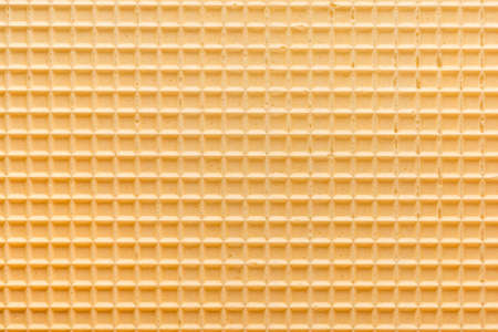 empty yellow wafer background for your design