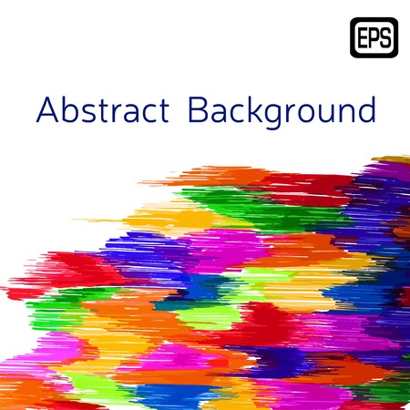 Abstract decorative marker background. Vector EPS illustration Vector