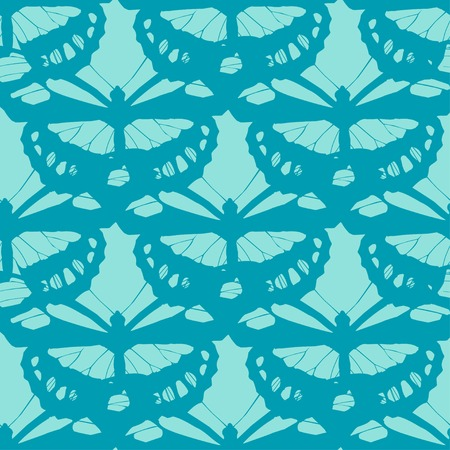 seamless butterfly background. Vector illustration.  EPS 10 Vector
