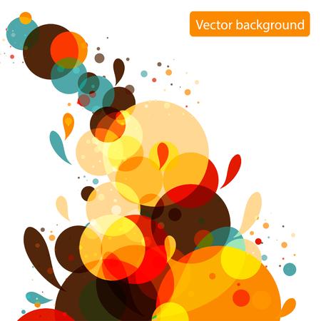 bubble background: Bolle di bubble background. Illustrazione vettoriale. Vettoriali