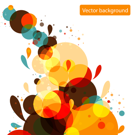 Bubbles from bubble background. Vector illustration. Vector