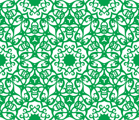 Retro decorative vector seamless pattern. Endless texture can be used for wallpaper. Vector