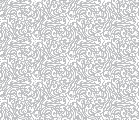 Retro decorative vector seamless pattern. Endless texture can be used for wallpaper. EPS 10 Vector