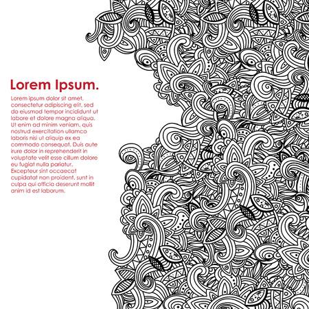 seamlessly: Multicolor Pattern Doodles- Decorative Sketchy Notebook Design- Hand-Drawn Vector Illustration Background. EPS