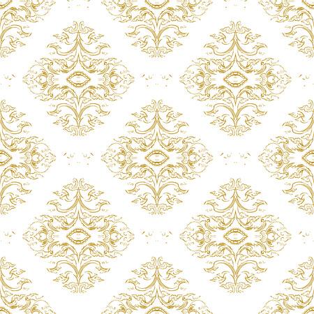 Vecteur thai ornement décoratif floral. Illustration EPS Banque d'images - 42419037