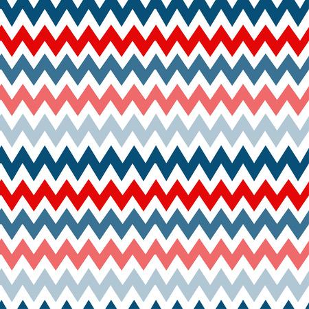 pop art herringbone pattern: Vector  chevrons seamless pattern background retro vintage design Illustration